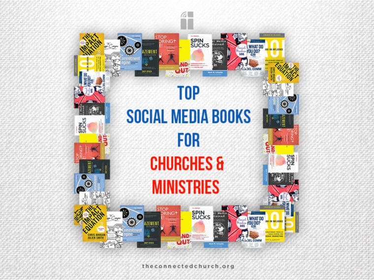 Top Social Media Books for Churches and Ministries