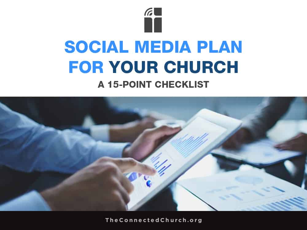 social media plan for your church